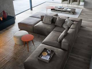 Salon minimaliste par Livarea Minimaliste