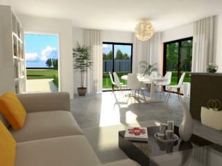 Terre Corail 'Villa Elloua' par Cedreo Studio