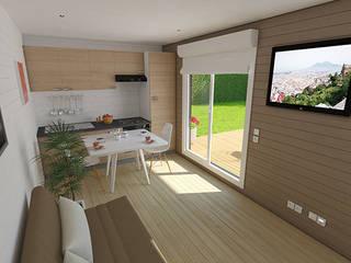 BH (Groupe Bénéteau) : Extension de maison par Cedreo Studio