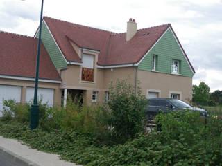 Extension et rénovation extérieure en Seine et Marne NO B.O ARCHITECTURE