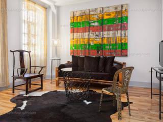 Salas de estilo ecléctico de f12 Photography Ecléctico