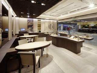Oficinas y tiendas de estilo moderno de Baierl & Demmelhuber Innenausbau GmbH Moderno