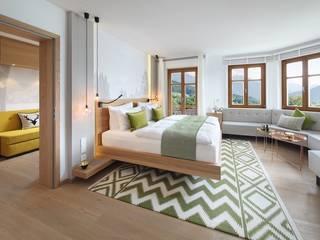 Hoteles de estilo moderno de Baierl & Demmelhuber Innenausbau GmbH Moderno
