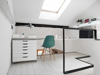 Study/office by PLUS ULTRA studio, Minimalist