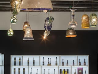 moreandmore design Eclectic style commercial spaces