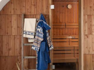 FEILER – winterliche Behaglichkeit mit BALTIC BLUE und BALTIC BLUE BORDER: skandinavisches Spa von FEILER