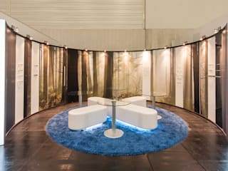 Stand Knoxtyl Interzum.. Diseño de ferias de estilo moderno de Estudio TYL Moderno