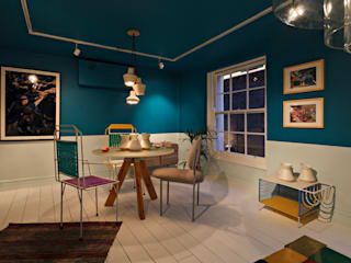 L'Appartement du Progres Modern commercial spaces by 19 Greek Street Modern