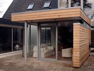 Ansicht Anbau -  perspektiv :   von karsten bergmann architekt