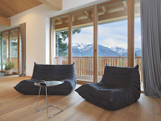 peter glöckner architektur Modern living room