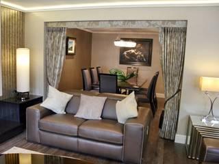 Lounge 1 to dining room von Aura Designworks Ltd