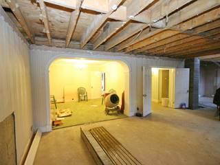 lounge 1 to dining room 1 - before von Aura Designworks Ltd