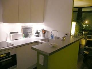 Appartement particulier de 45 m2 Pogonos Cuisine moderne
