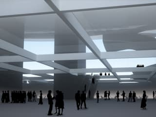 قاعة مؤتمرات تنفيذ Wen Qian ZHU Architecture