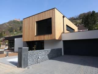 Villa S: Maisons de style de style Moderne par Agence Benoit Herrmann Architecte