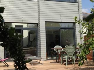 Extension d'une maison en ossature bois Philippe Gobin Architecte