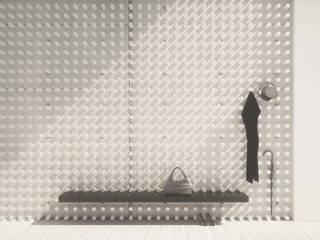 Minimalistische Wände & Böden von Wen Qian ZHU Architecture Minimalistisch