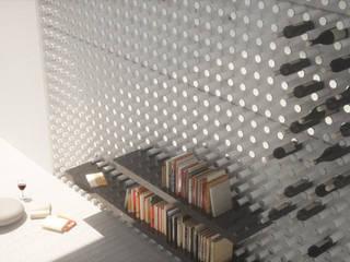 جدران تنفيذ Wen Qian ZHU Architecture,