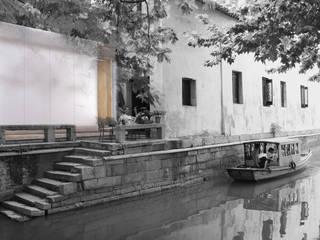 MICRO SHANSHUI: Maisons de style  par Wen Qian ZHU Architecture