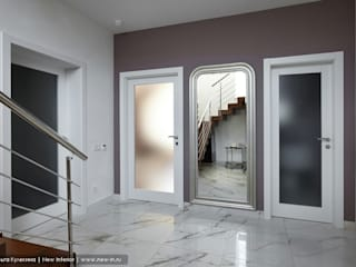 Classic style corridor, hallway and stairs by Ольга Кулекина - New Interior Classic