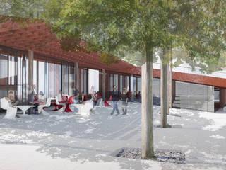 صالات عرض تنفيذ Wen Qian ZHU Architecture,