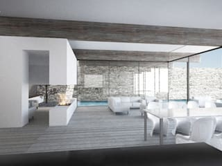 منازل تنفيذ Wen Qian ZHU Architecture,
