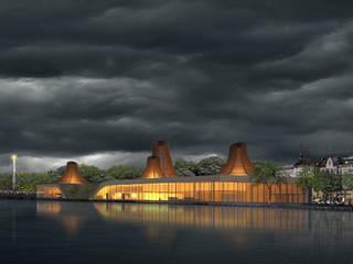 MAGMA: Musées de style  par Wen Qian ZHU Architecture