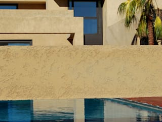 Benyamina 5 Casas de estilo moderno de saz arquitectos Moderno
