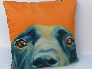 'Labrador'-cushion:   by Thuline, Studio-Gallery