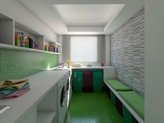 Laundry: Cozinhas  por Ideia1 Arquitetura