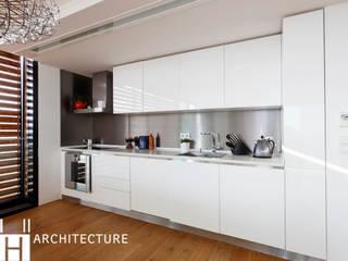 Cocinas de estilo industrial de DICLE HOKENEK ARCHITECTURE Industrial
