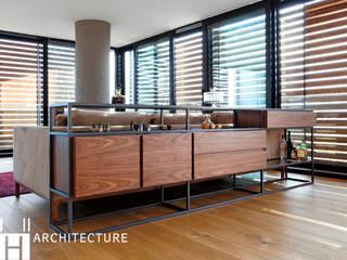 DICLE HOKENEK ARCHITECTURE – TS EVI: modern tarz , Modern