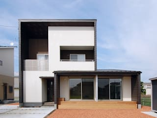 Modern houses by スペースキューブ一級建築士事務所/Space Cube Modern