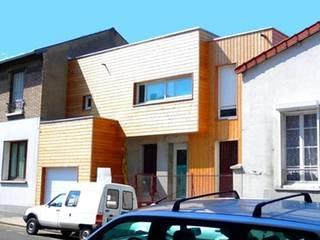 Extension- Surélévation d'une maison (92) Philippe Gobin Architecte