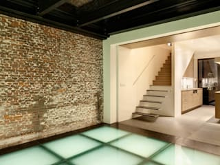 ITC Annex - Leiden Moderne gangen, hallen & trappenhuizen van Mirck Architecture Modern