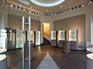 Optiker Schoneweg Klassische Ladenflächen von Hamburg Design GmbH Klassisch