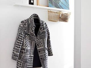 Projekty,  Garderoba zaprojektowane przez Kristina Steinmetz Design, Skandynawski