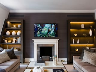 Duke Street, Mayfair:  Living room by Perfect Integration