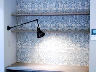 Ruang Studi/Kantor Gaya Rustic Oleh HAPTIC HOUSE Rustic