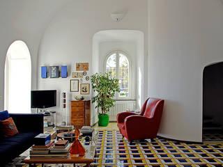 Mediterranean style living room by Sergio Prozzillo Ass.ti Mediterranean