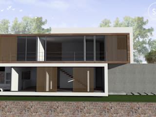 Houses by start.arch architettura,