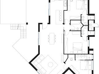 Rumah Gaya Mediteran Oleh start.arch architettura Mediteran