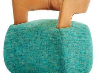 Durlet BeBop Sessel by Sven Dogs:  Wohnzimmer von KwiK Designmöbel GmbH