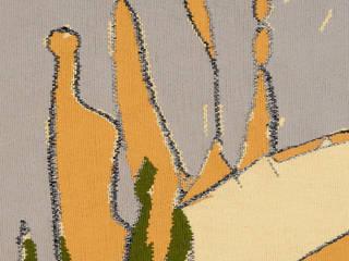 Wandtapijt handgeweven - In The Open Field I, 2014: modern  door Galerij Theaxus, Modern
