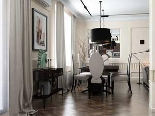 Павел Белый и дизайнеры Klassische Wohnzimmer