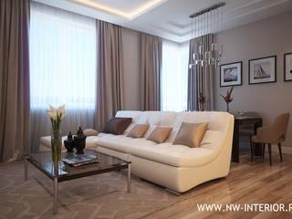 Дизайн квартиры в ЖК Лосиный остров от дизайн-студия Nw-interior
