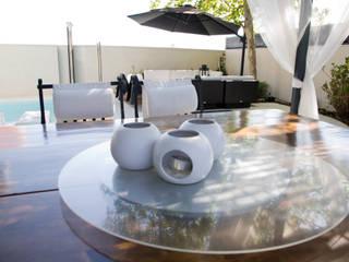 Jardin minimaliste par IPUNTO INTERIORISMO Minimaliste