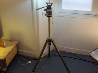 Trépied photo / lampe par Art'ébèn Éclectique