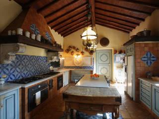 Architetto Giuseppe Prato Rustikale Küchen