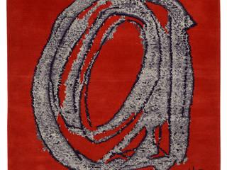 Wand- en vloertapijt handgeknoopt - Colour Composition 1/6, 2012: modern  door Galerij Theaxus, Modern